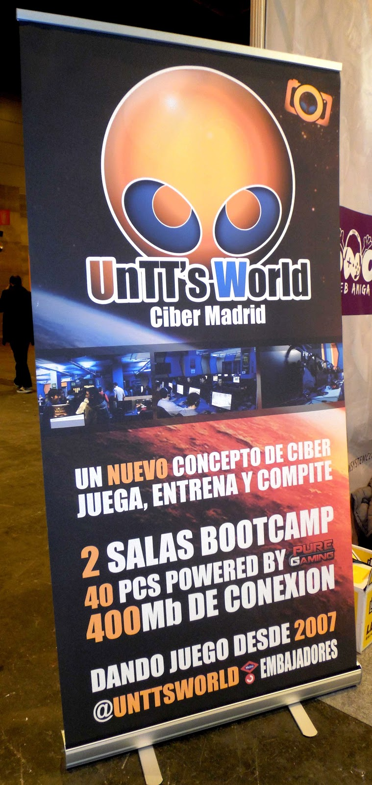 cyber gimnasio untts world