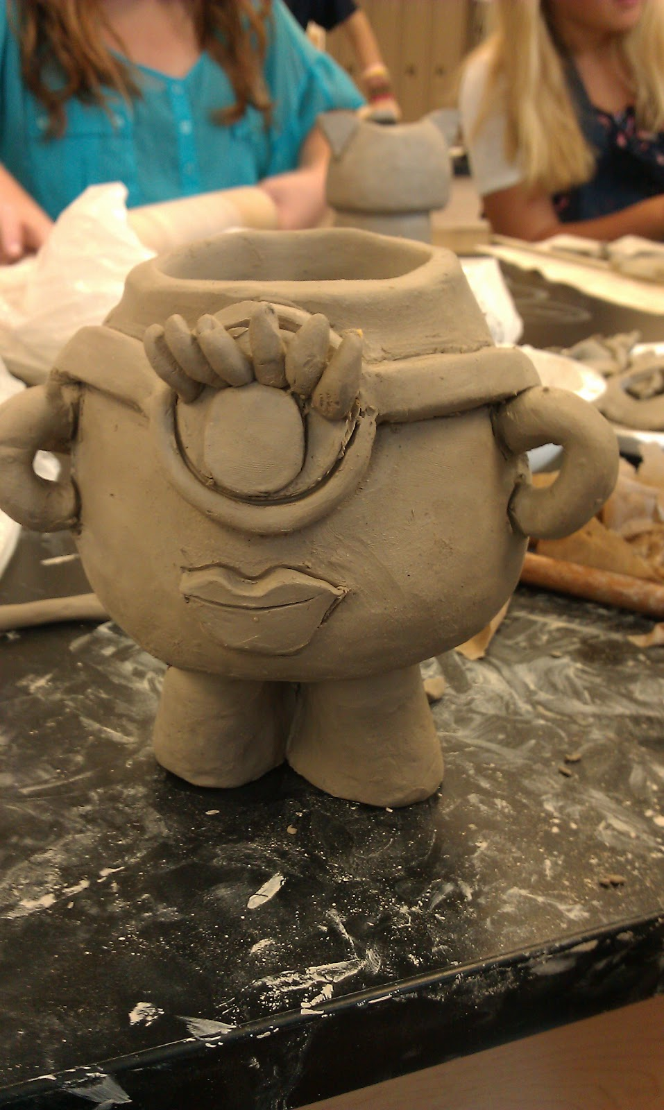 Art With Ms Lloyd 8th Grade Ceramics Monster Planters
