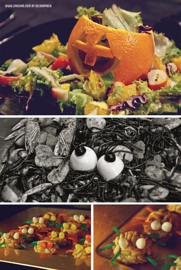 Menú Castaween (Halloween+castañada)