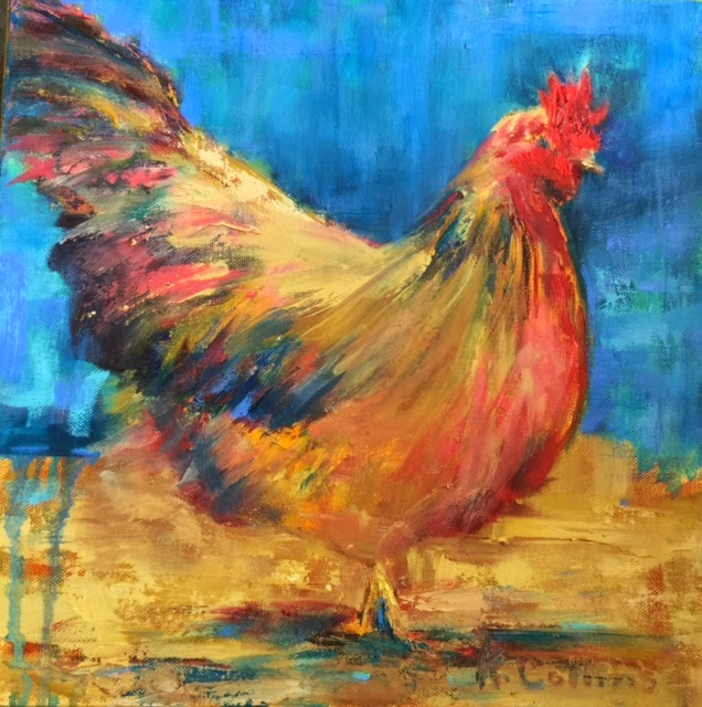 Kathy collins paints henny penny for Henny and paint