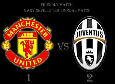 Gary Neville Testimonial Match Manchester United Juventus