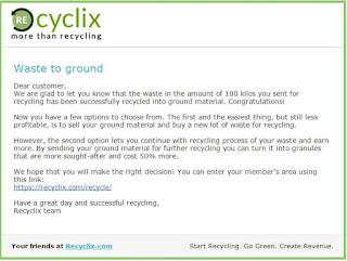 Bisnis Online Gratis Tanpa Modal Duit Mengalir Pake Recyclix - Review ...
