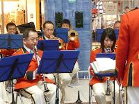 京都市消防音楽隊は、若い方から壮年もいた!