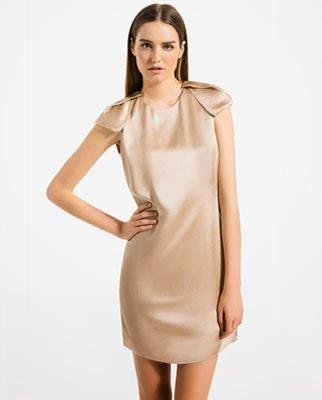 vestido corto para eventos Massimo Dutti verano 2014