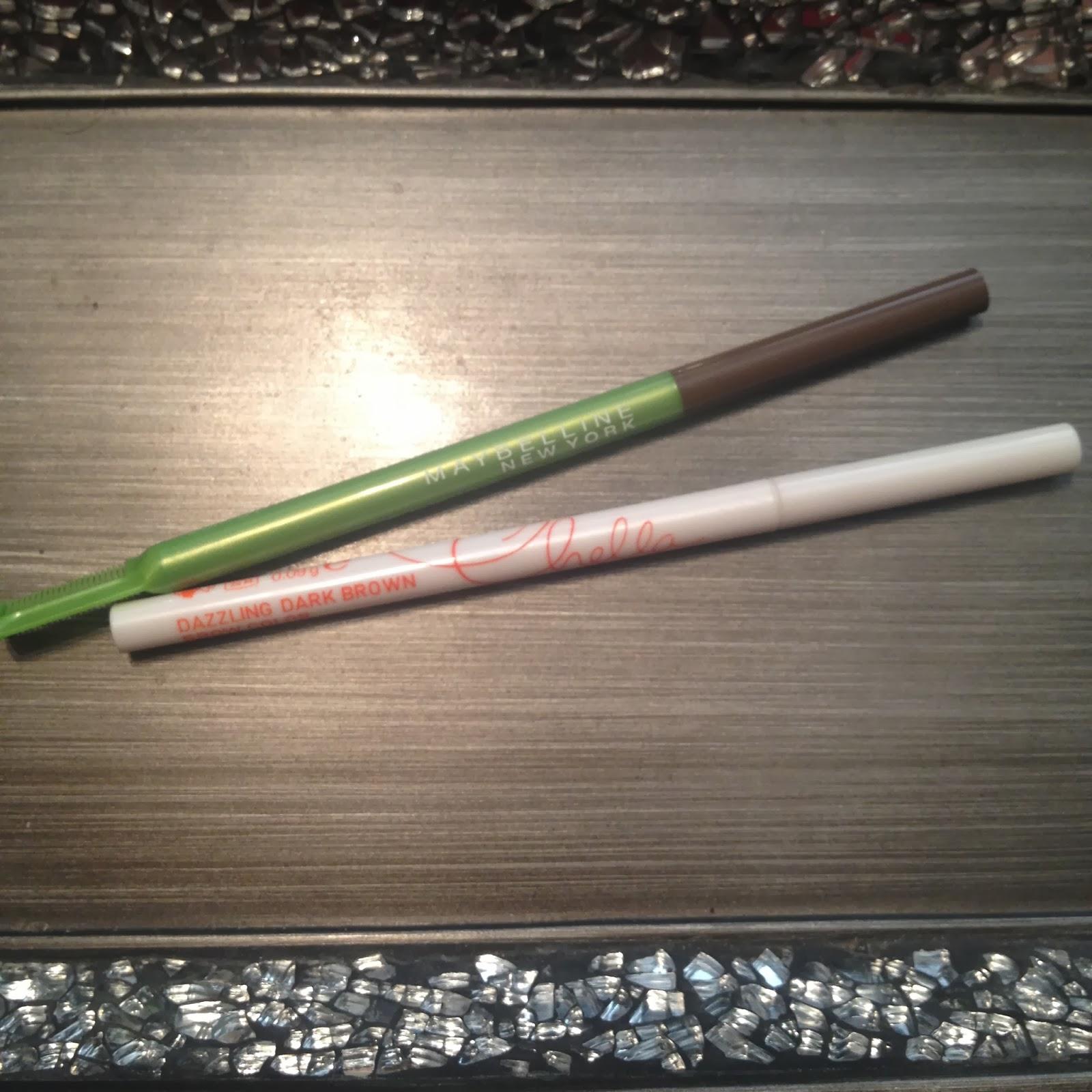 chella eyebrow pencil. chella eyebrow color pencil y