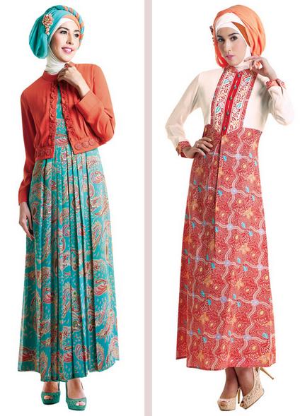 10 model baju gamis muslim pesta terbaru 2015 Baju gamis versi 2015