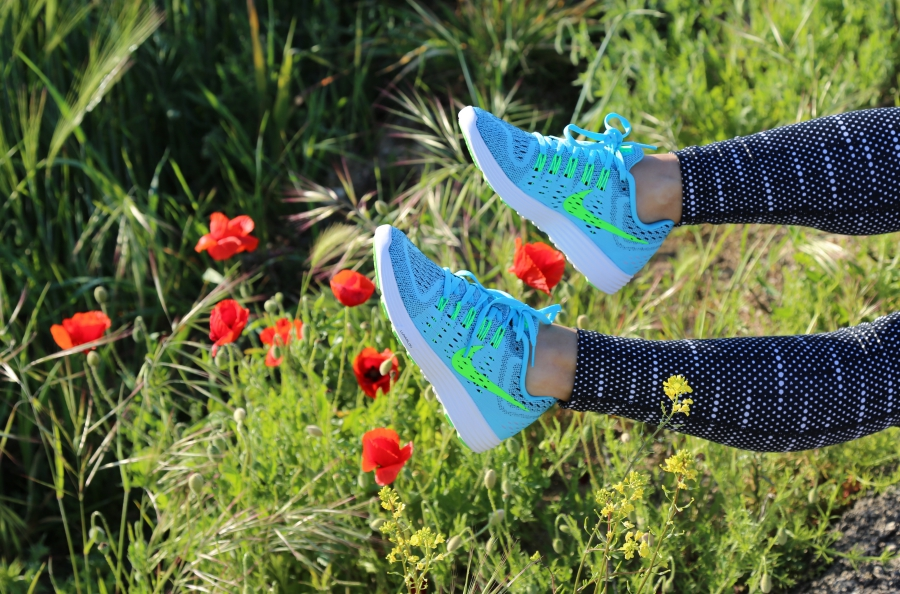 Nike LUnar Tempo azules