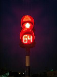 人类文明史上的一次红灯