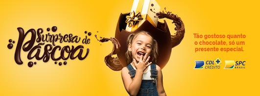 Tão gostoso quanto chocolate, só um presente especial.