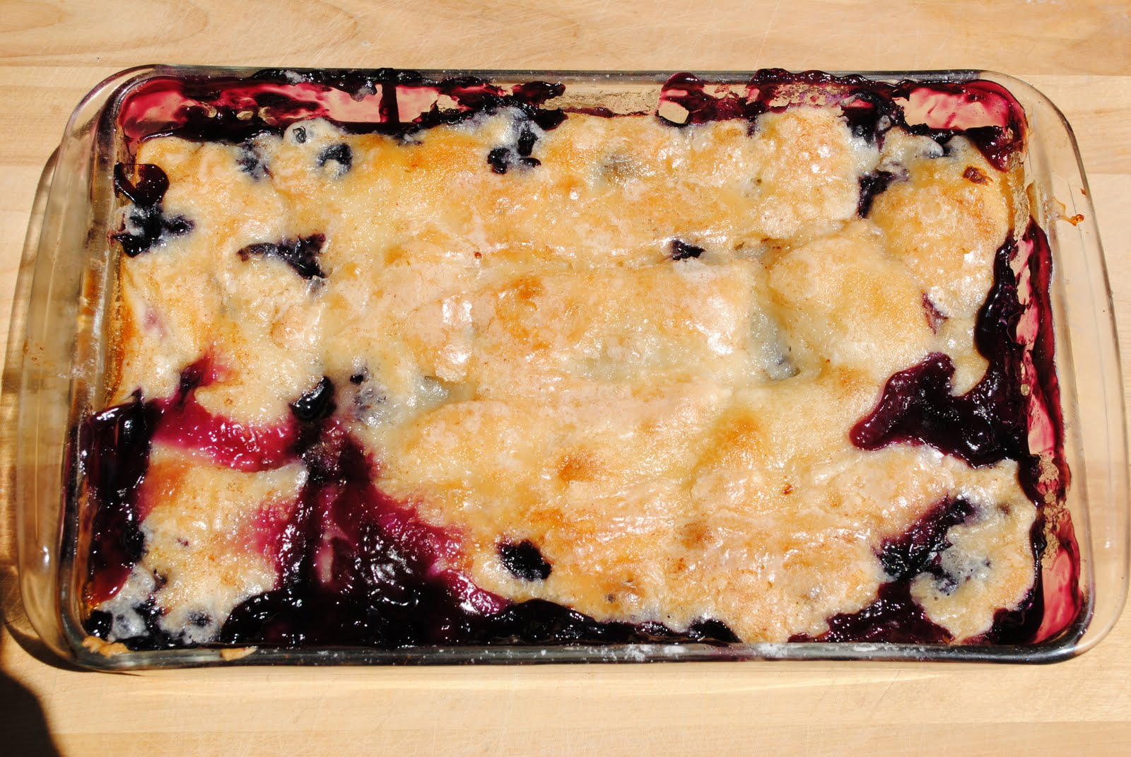 ... with blueberry buttercream frosting blackberry cobbler rhubarb cobbler