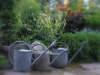 Gamla vattenkannor