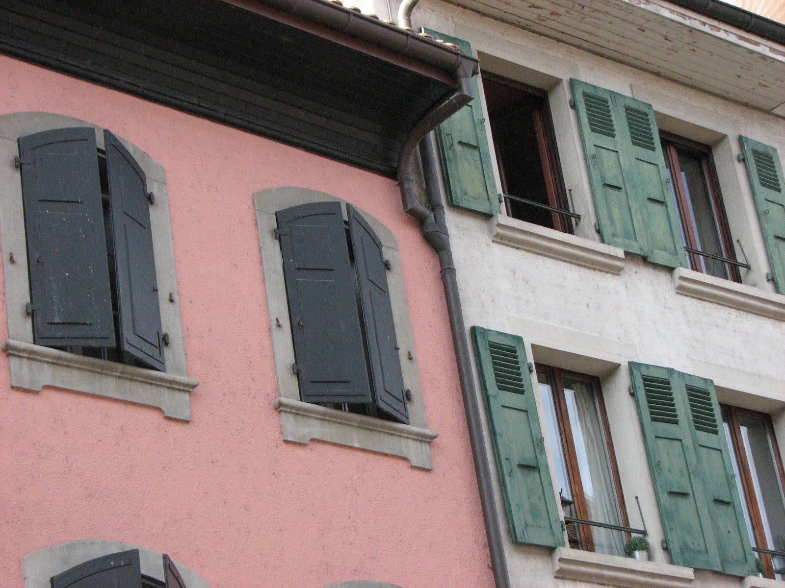 Mies, Switzerland, & Europe Too!: Swiss Windows: A Cultural Contrast ...