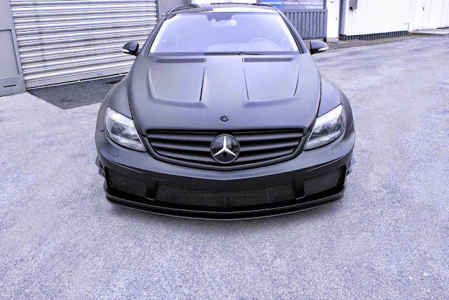 mercedes w216 body kit