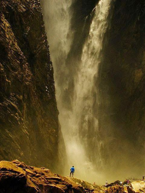 Gerosoppa Falls or Joga Falls, India
