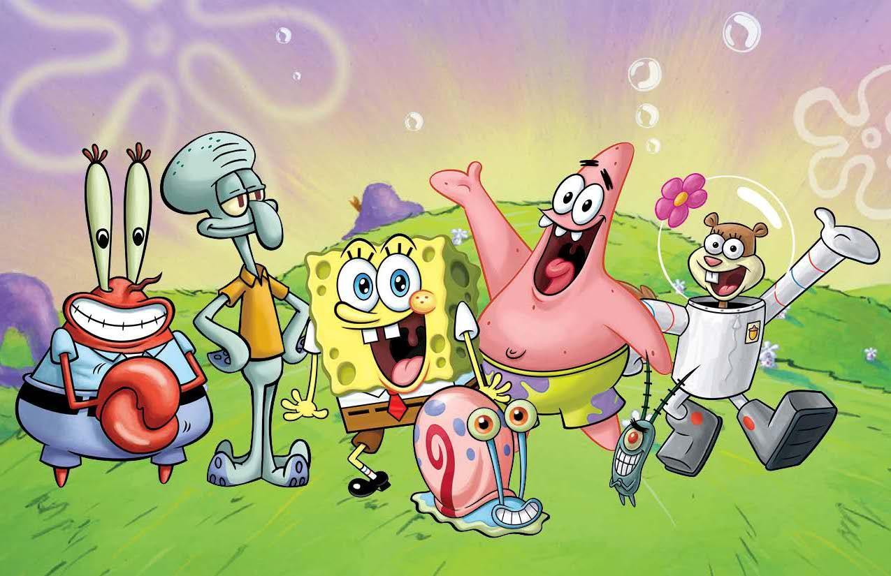 Kopi Hangat Kumpulan Gambar SpongeBob SquarePants Dan Temannya