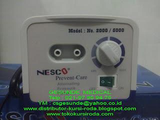 pompa angin kasur decubitus Nesco