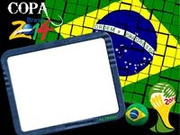 Moldura Copa 2014 Brasil