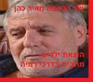 שר הרווחה מאיר כהן - דרכי רמיה וצביעות למדיניות רווחה דורסנית והרסנית