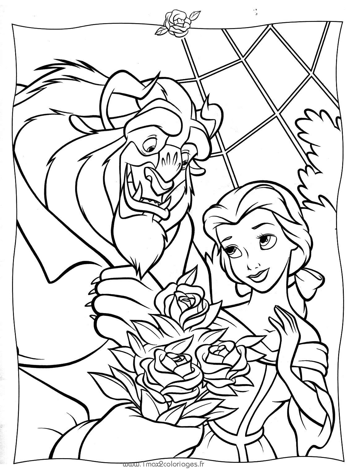 Imágenes para Colorear de las Princesas Disney (18 fotos ...
