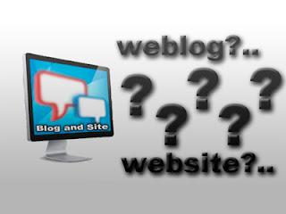 Perbedaan Website dan Weblog