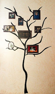 DIY Family Tree Mural step 2