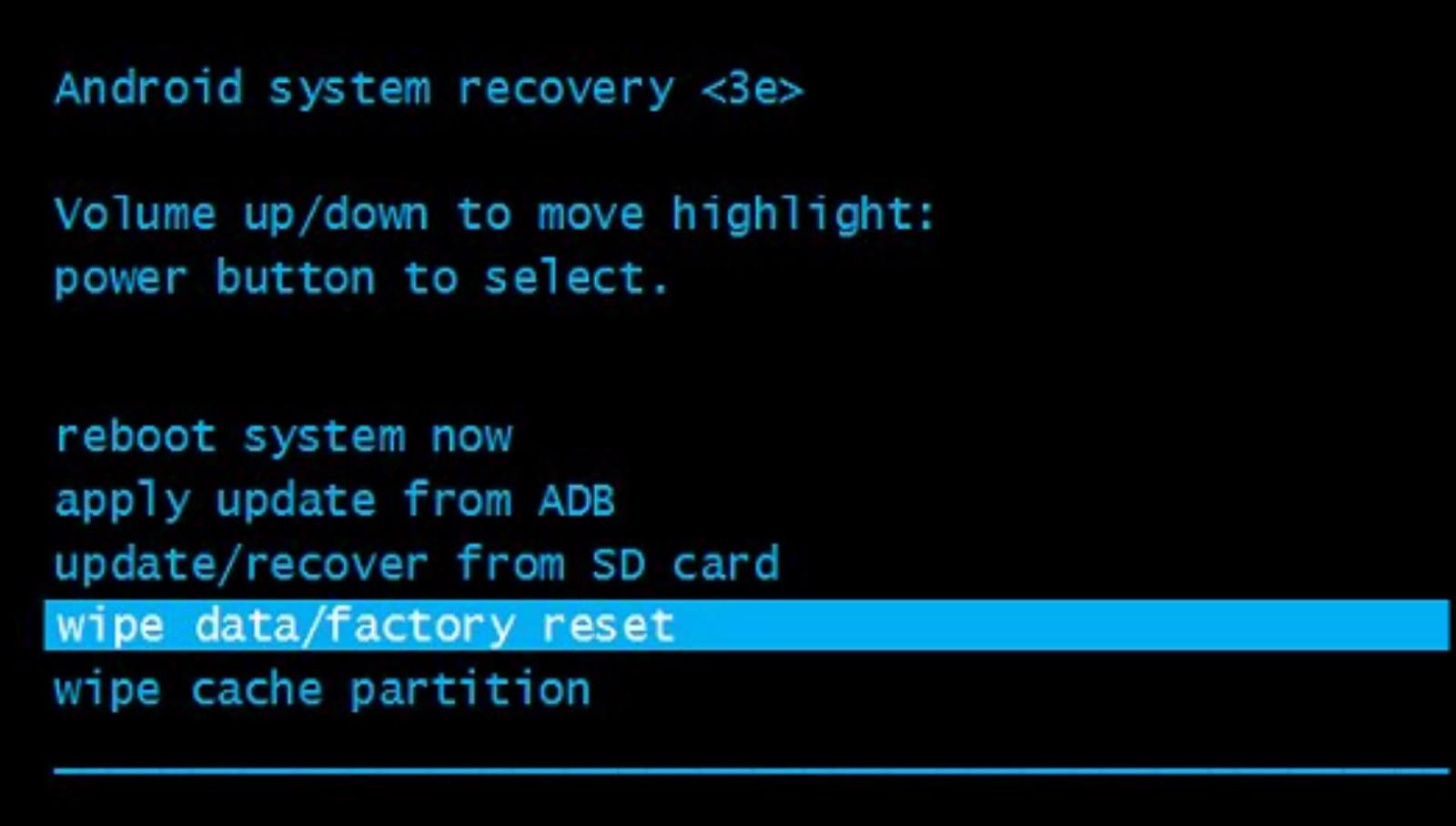 Как сделать recovery в android
