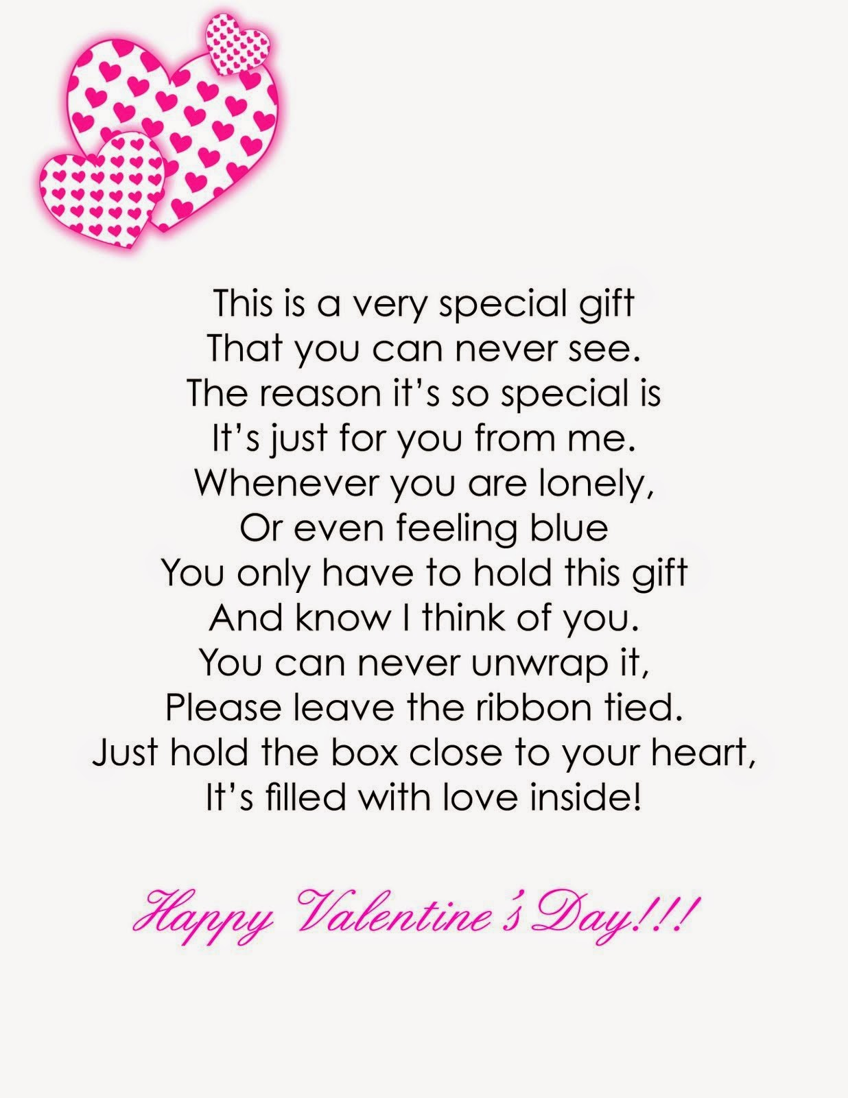 Box Of Love Poem : Joyful reflections it s all about love