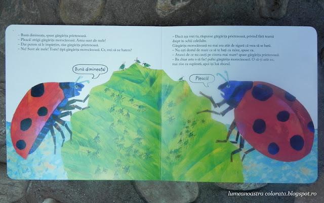 Gărgărița morocănoasă de Eric Carle, editura Cartea Copiilor