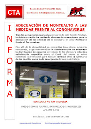 ADECUACIÓN DE MONTEALTO A LAS MEDIDAS FRENTE AL CORONAVIRUS