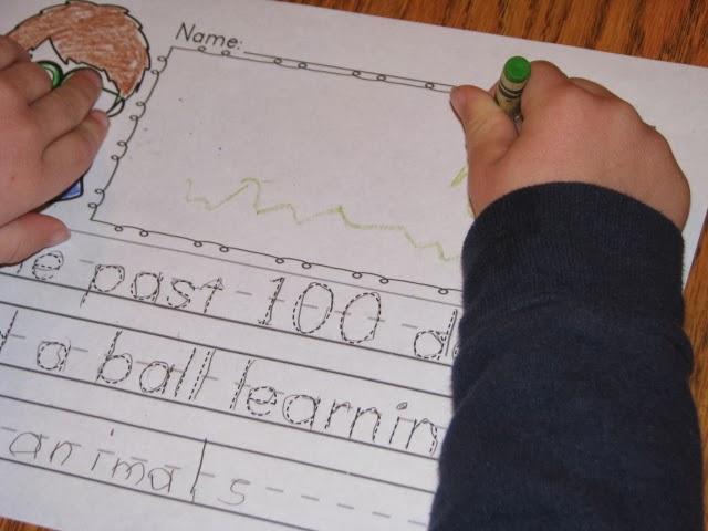 Interactive writing activities