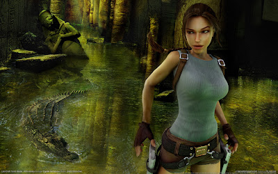 lara, crot, tomb, raider, wallpaper, girl