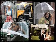 Trend: Transparan Şemsiyeler!