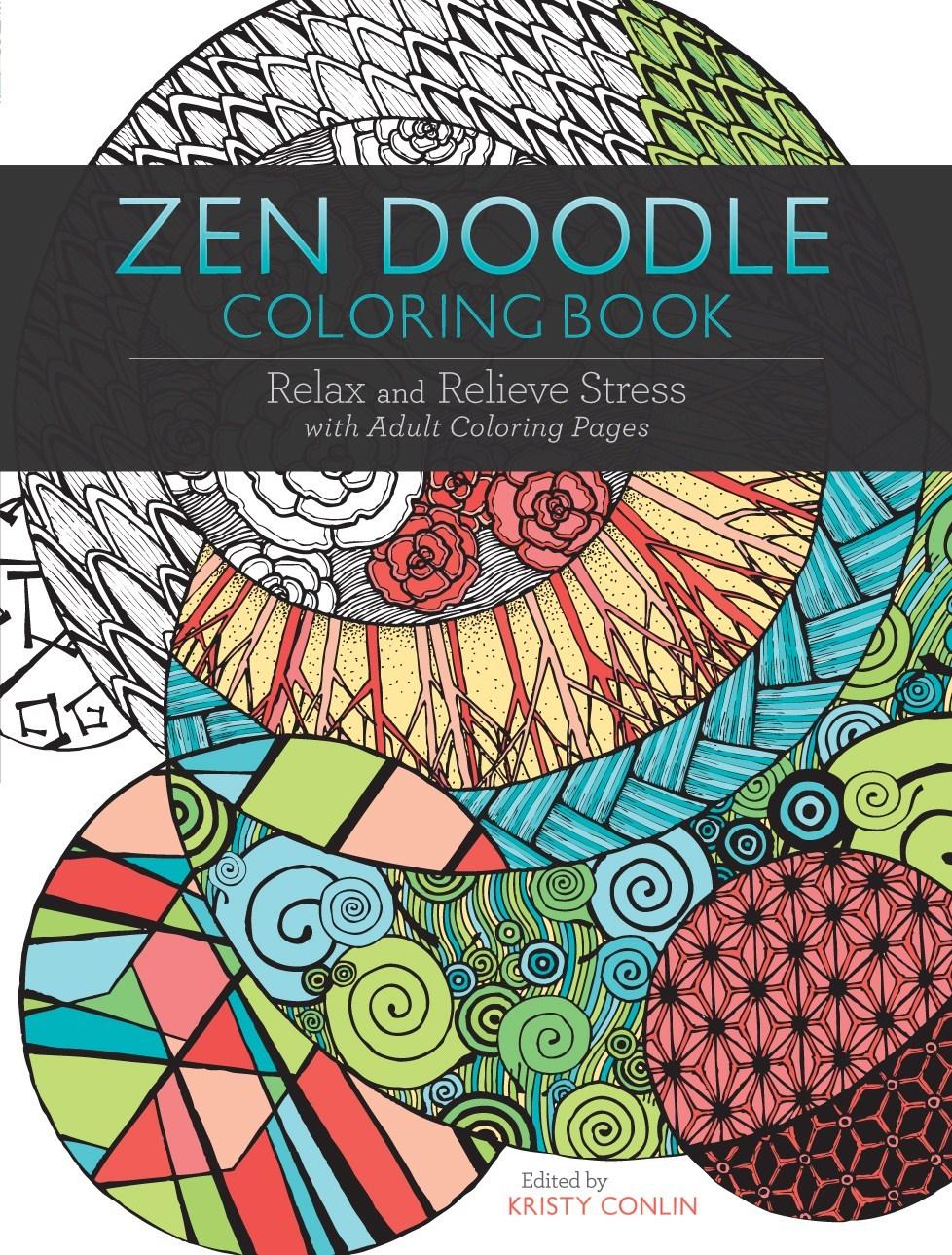 Zen colouring tesco - Zendoodle Colouring Book