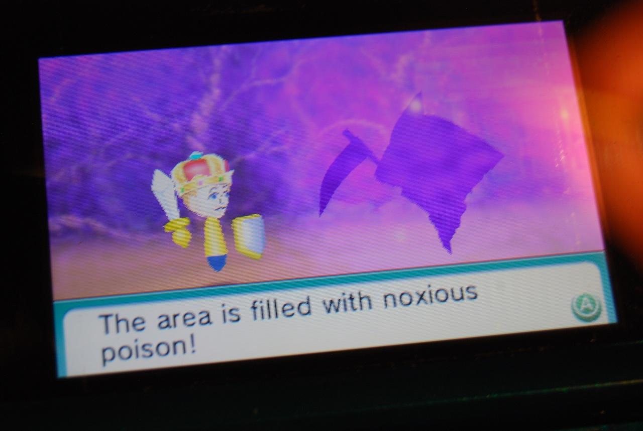 Poison Gas Room Find Mii