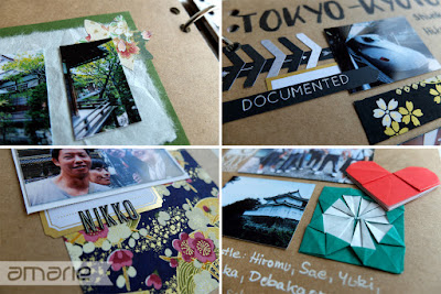 einfach amarie - Japan travel journal layout details
