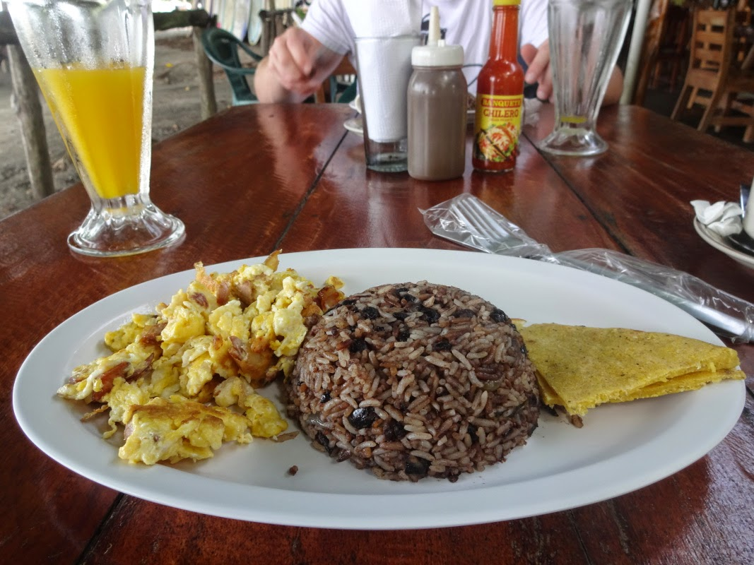 the best breakfast of the world gallo pinto