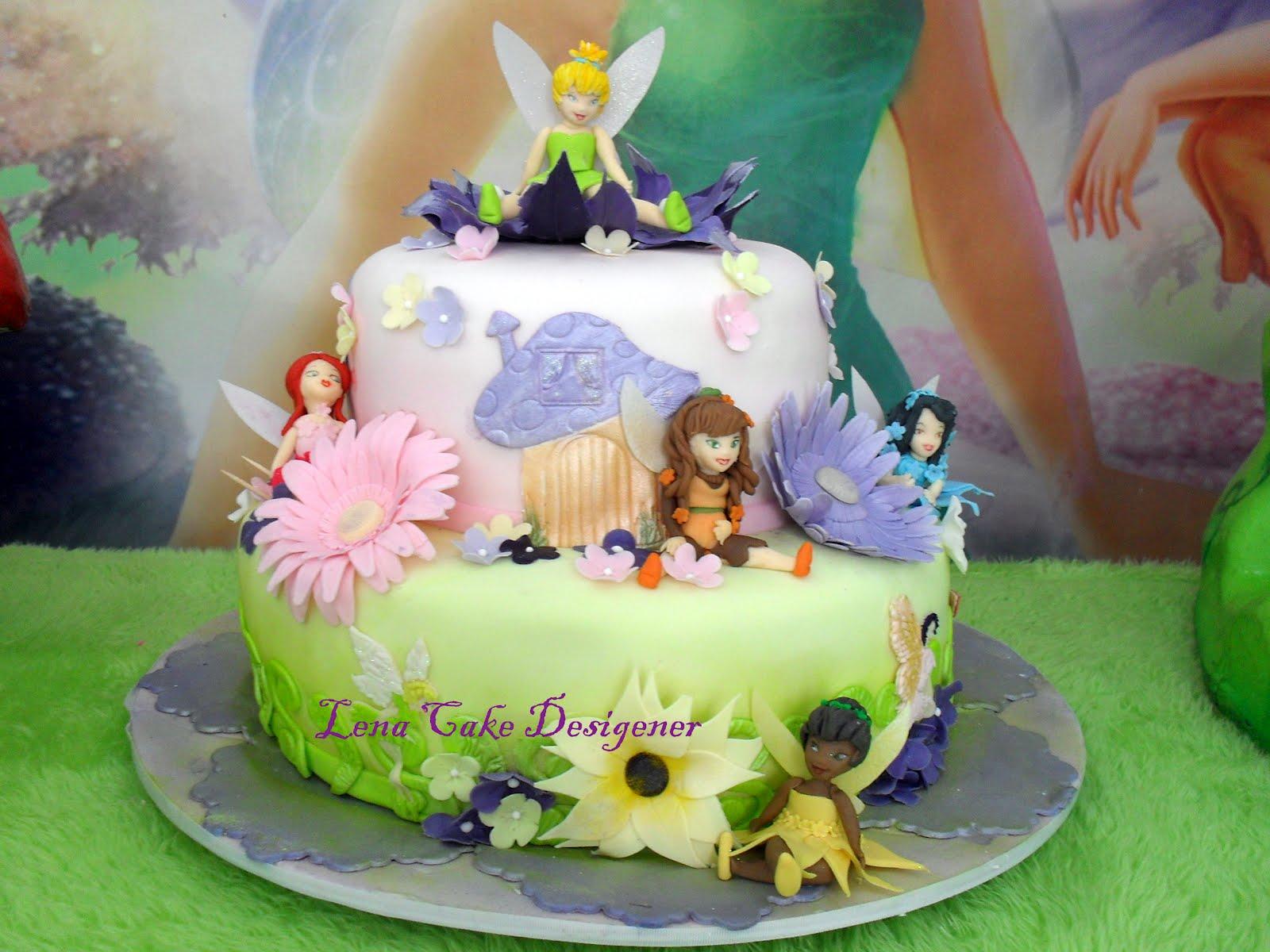 Lena bolos decorados bolo das fadas for En 8 dias cumplo anos