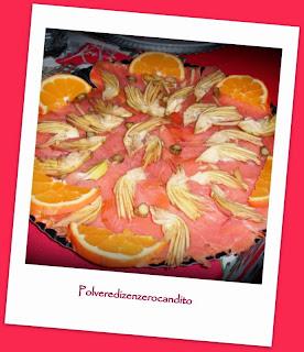 salmone con zenzero e arancia