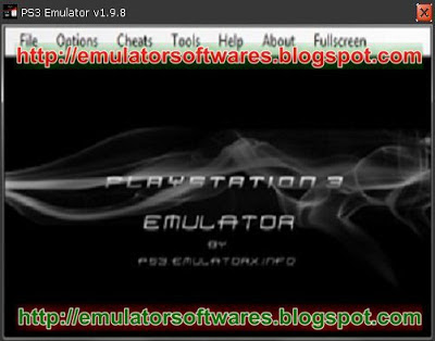 PS3 Emulator 2013 newest version 1.9.8