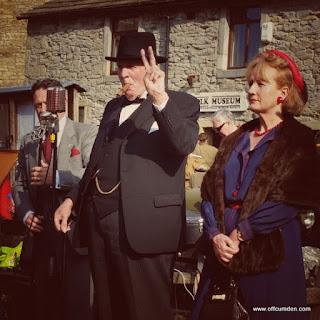 Winston Churchill 1940s weekend