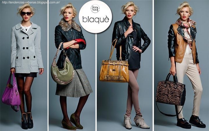 Blaque carteras colección otoño invierno 2013