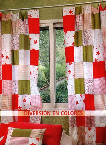 Como hacer cortinas para cocina imagui for Como hacer cortinas de cocina