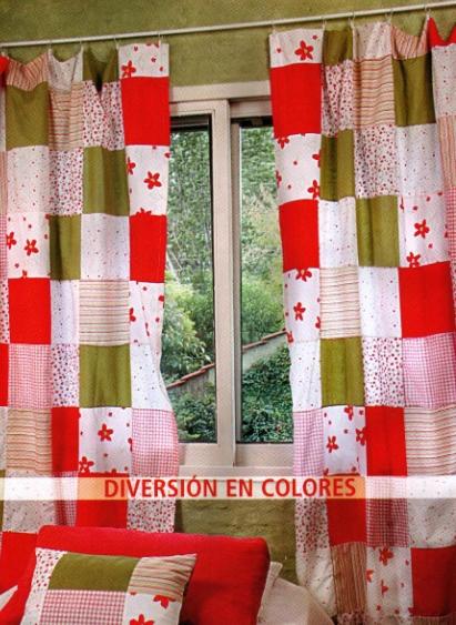 Maria enredos cortinas para la cocina for Hacer cortinas cocina