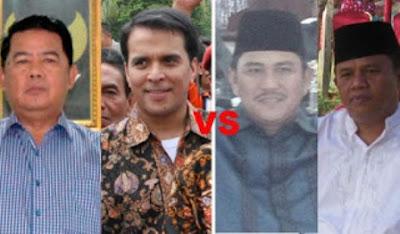 Duet Di bungo, Sudirman-Riduwan vs  Mashuri-Kadirun