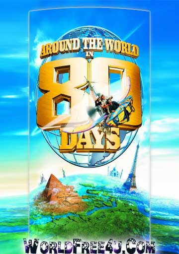 Poster Of Around the World in 80 Days (2004) Full Movie Hindi Dubbed Free Download Watch Online At worldfree4u.com