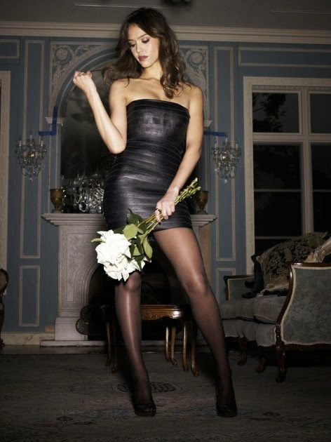 Can jessica alba wearing pantyhose recommend