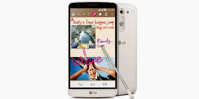 LG launches G3 Stylus Smartphone