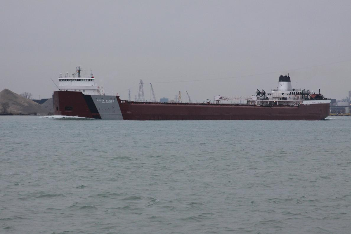 Michigan Exposures My First Ship Of The Year The Roger