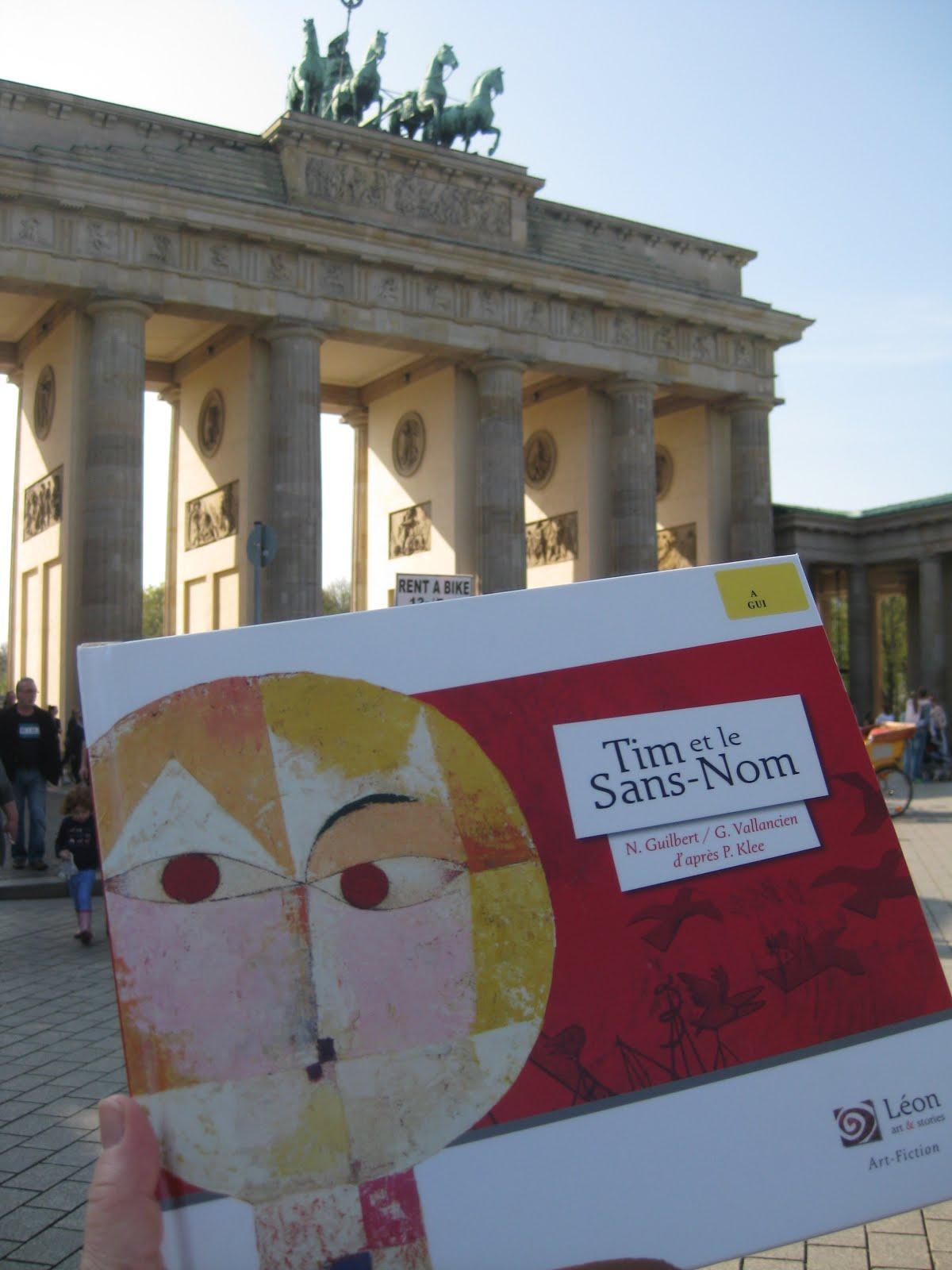 Tim et le Sans-Nom à la médiathèque de l'Institut Français de Berlin