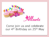 Join our fourth Birthday celebration on 25th May